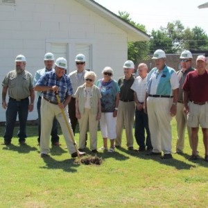 Groundbreaking for the Arkansas Country Doctor Museum in Lincoln, AR